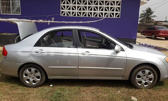Buy Used Kia Spectra Silver Car in Monrovia in Montserrado County