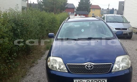 Buy Used Toyota Corolla Blue Car in Monrovia in Montserrado County