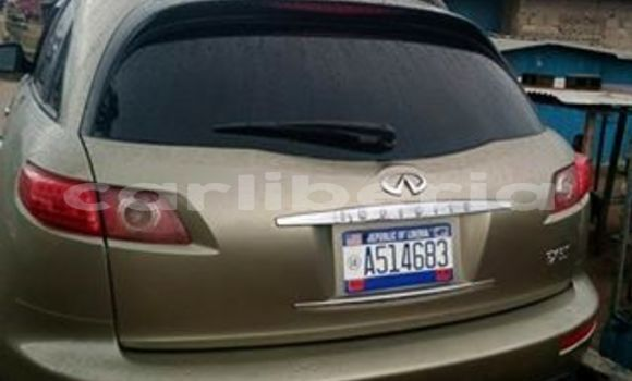 Buy Used Infiniti FX-Series Brown Car in Monrovia in Montserrado County