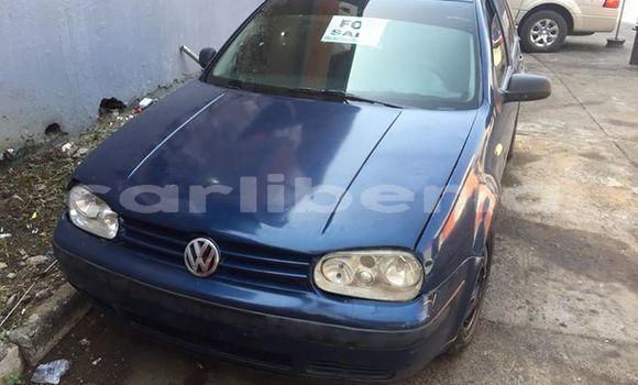 Buy Used Volkswagen Golf Blue Car in Monrovia in Montserrado County
