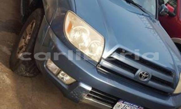 Buy Used Toyota 4Runner Blue Car in Bensonville in Montserrado County