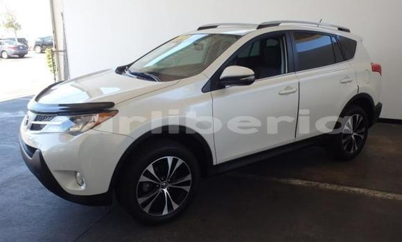 Buy Used Toyota RAV4 White Car in Monrovia in Montserrado County
