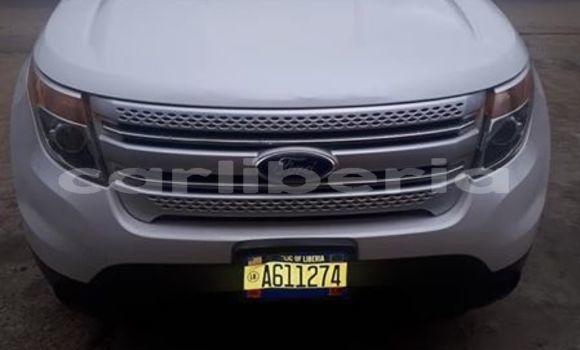 Buy Used Ford Explorer White Car in Monrovia in Montserrado County