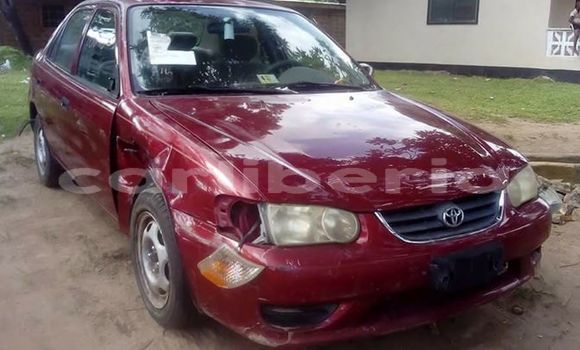 Buy Used Toyota Corolla Red Car in Monrovia in Montserrado County