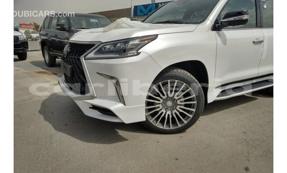 Buy Import Lexus LX White Car in Import - Dubai in Bomi County