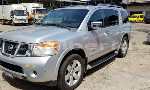 Buy Used Nissan Armada Silver Car in Monrovia in Montserrado County