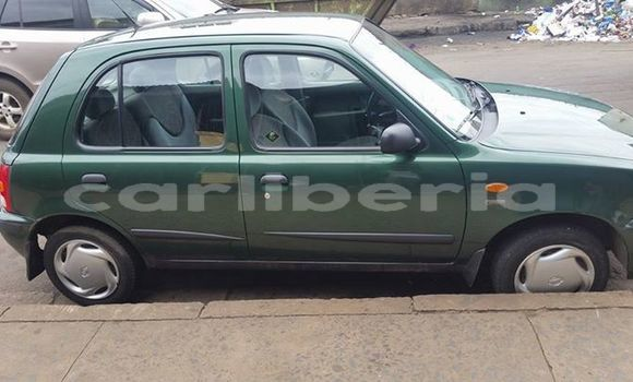 Buy Used Nissan Micra Green Car in Monrovia in Montserrado County