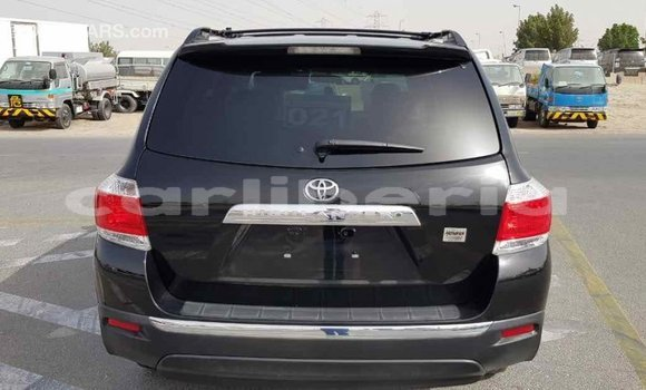 Buy Import Toyota Highlander Black Car in Import - Dubai in Bomi County