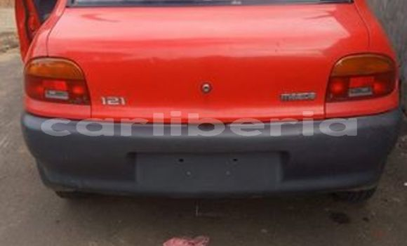 Buy Used Mazda Mazda 2 Red Car in Monrovia in Montserrado County