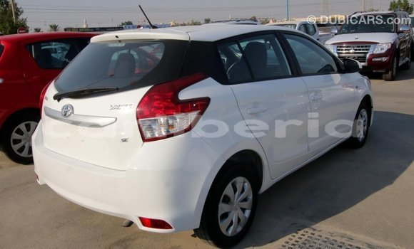 Buy Import Toyota Yaris White Car in Import - Dubai in Bomi County