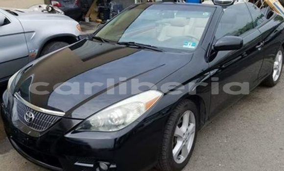 Buy Used Toyota Solara Black Car in Monrovia in Montserrado County