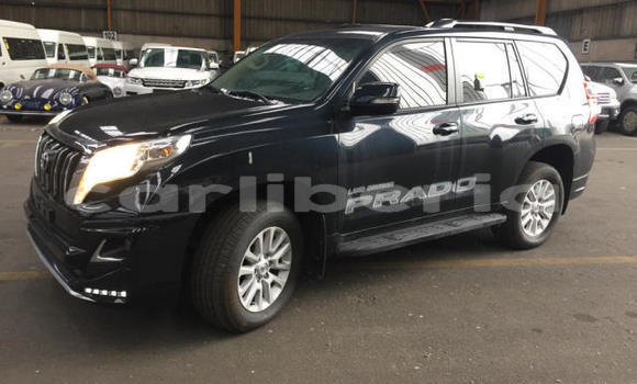 Buy Used Toyota Land Cruiser Prado Black Car in Monrovia in Montserrado County