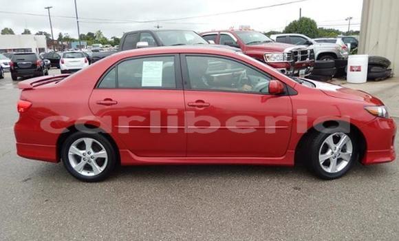 Buy Used Toyota Corolla Red Car in Monrovia in Montserrado County