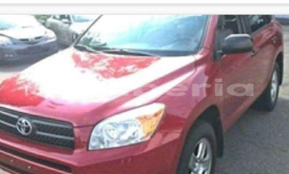 Buy Used Toyota RAV4 Red Car in Monrovia in Montserrado County