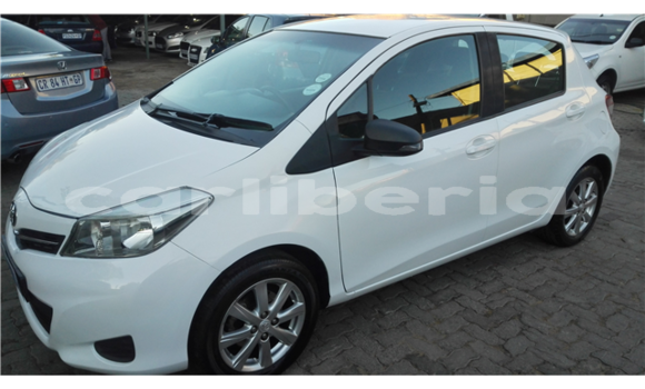 Buy Used Toyota Yaris White Car in Monrovia in Montserrado County