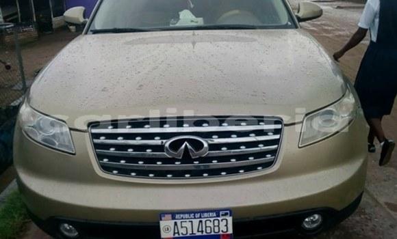 Buy Used Infiniti FX-Series Brown Car in Monrovia in Montserrado County