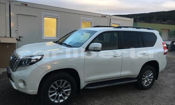 Buy Used Toyota Land Cruiser Prado White Car in Monrovia in Montserrado County