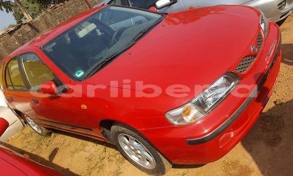 Buy Used Nissan Almera Red Car in Monrovia in Montserrado County