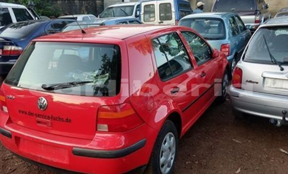 Buy Used Volkswagen Golf Red Car in Monrovia in Montserrado County