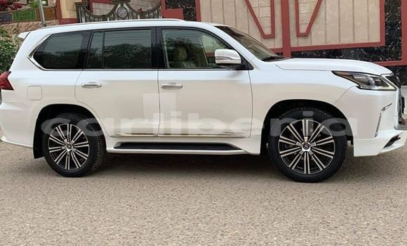 Buy Used Lexus LX 570 White Car in Monrovia in Montserrado County