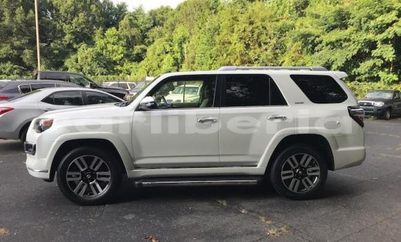 Buy Used Toyota 4Runner White Car in Monrovia in Montserrado County