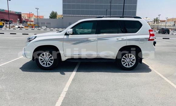 Buy Used Toyota Land Cruiser Prado White Car in Monrovia in Montserrado County
