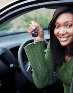 Thumb learn driving